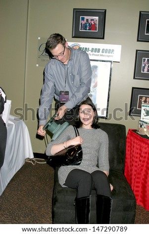 Rena Sofer at the GBK Productions Golden Globe Gifting Suite Friar's Club Beverly Hills   CA January 11, 2007