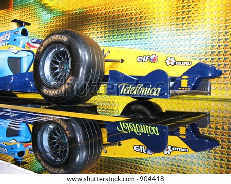 Renault F1 Formula one Fernando Alonso - stock photo