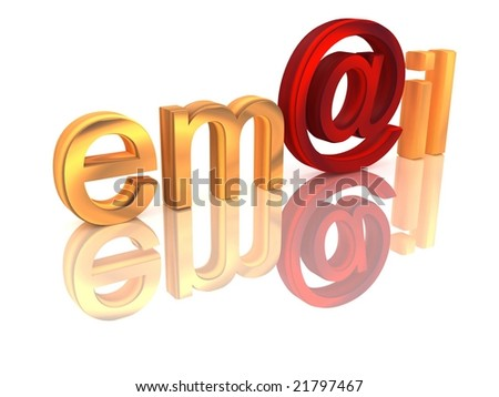 rendered text, isolated, white background