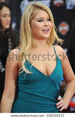 "Renee Olstead at the world premiere of ""Marvel's The Avengers"" at the El Capitan Theatre, Hollywood. April 11, 2012  Los Angeles, CA Picture: Paul Smith / Featureflash"