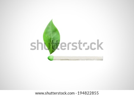 Renewable and sustainable green energy for the future! - stock photo