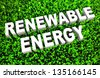 Renewable Energy and Sources as a Concept in 3D - stock vector