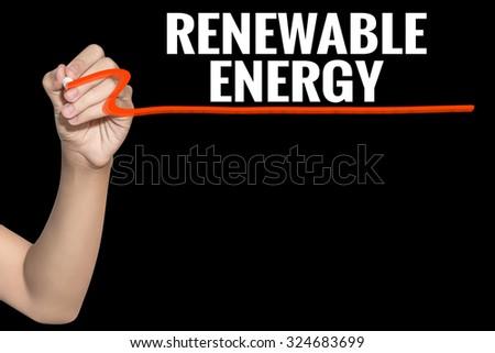 document write alternative energy