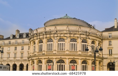 Rennes  is a city in the east of Brittany in north-western France. Rennes is the capital of the region of Brittany.