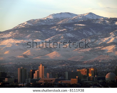 Reno, Nevada, skyline