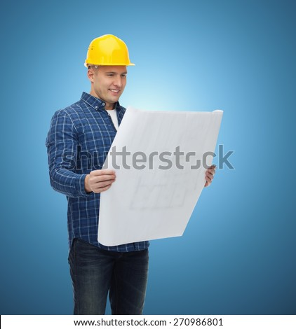 Repair construction building people maintenance concept stock photo repair construction building people and maintenance concept smiling male builder or manual malvernweather Image collections
