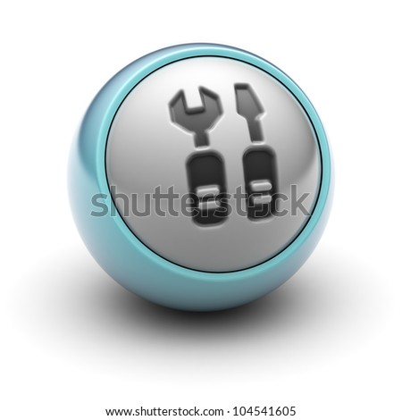 Repair  Full collection of icons like that is in my portfolio - stock photo
