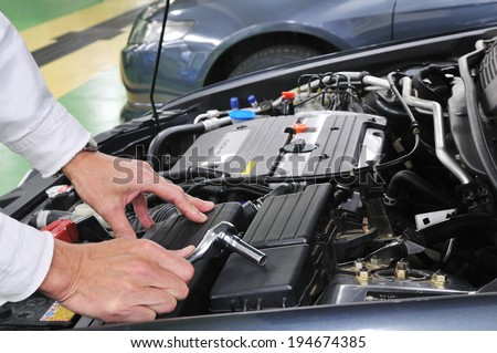 Repair of motor vehicles
