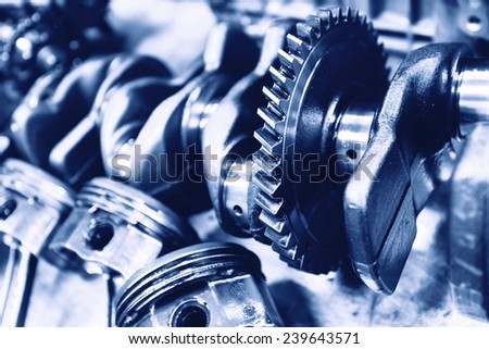 Repair the car engine