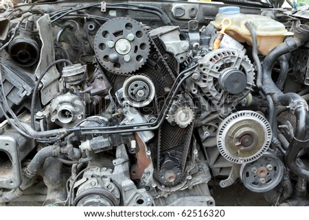 Repairing of modern diesel engine