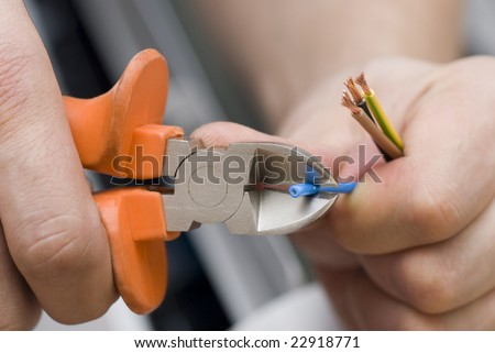 repairing power supply - stock photo