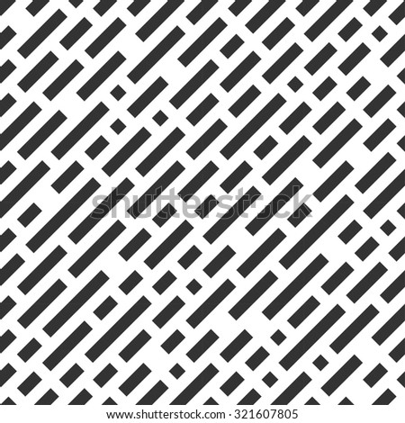 Repeatable white pattern with black stripes.Seamless background. - stock photo