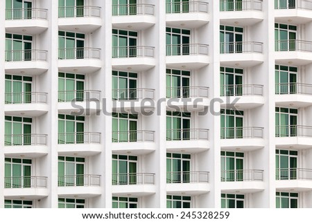 Apartment Building Front building front view stock images, royalty-free images & vectors
