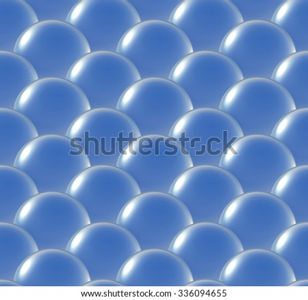 Repeating the crystal balls of overlay pattern background. For any size of unlimited extend  - stock photo