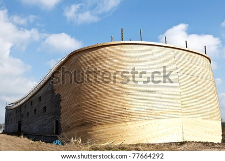 replica of the Ark of Noah