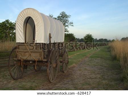 Replica Wagon - stock photo