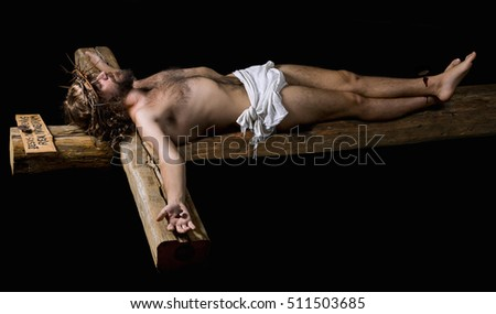 Crucified Stock Images...