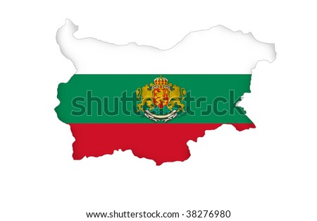 Republic of Bulgaria - stock photo