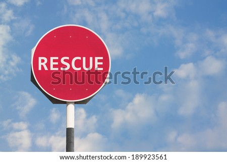 Rescue Sign