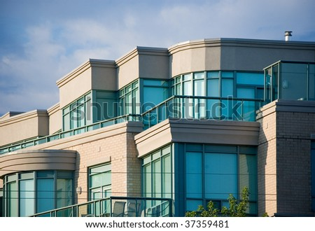 residential building architectural background