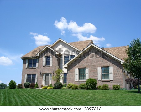 Residential Home - stock photo