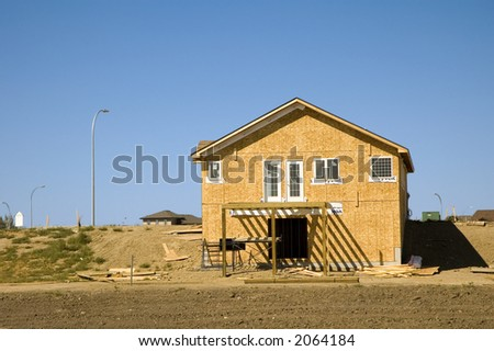 Residential Home under construction
