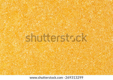 Resin filtration media for water purification system - stock photo