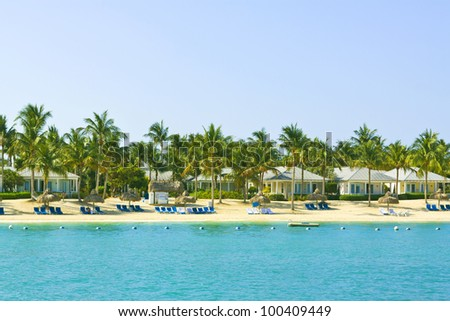 Resort - stock photo