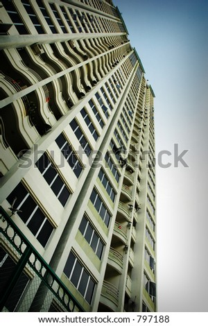 Resort Condominium - stock photo