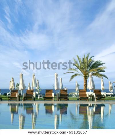 Resort (Cyprus) - stock photo