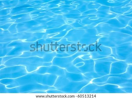 Resort water ripple - stock photo