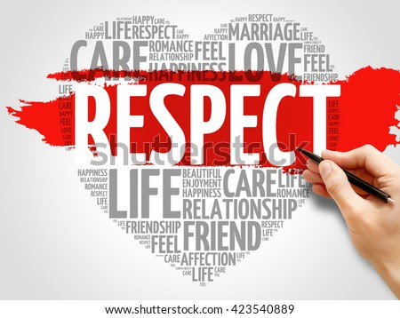 Infographic Ideas infographic definition of respect dictionary : Respect Stock Photos, Royalty-Free Images & Vectors - Shutterstock