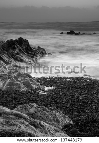 Rest Bay, Porthcawl, South Wales - stock photo