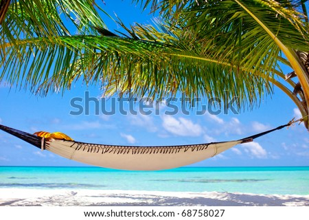 Rest in Paradise - stock photo