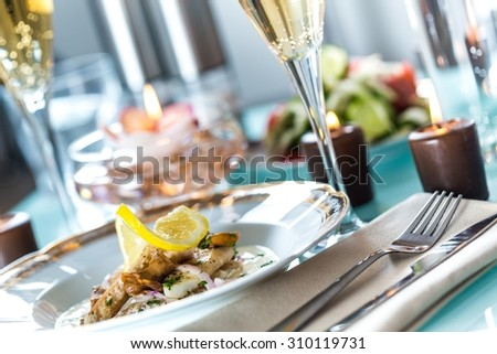 Restaurant. - stock photo