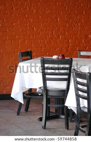 restaurant dining - stock photo