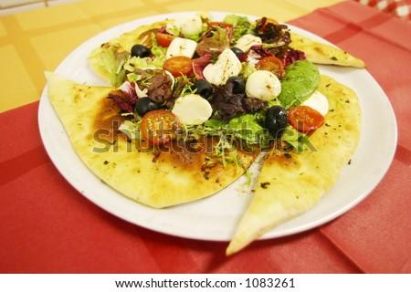 Restaurant dish - stock photo