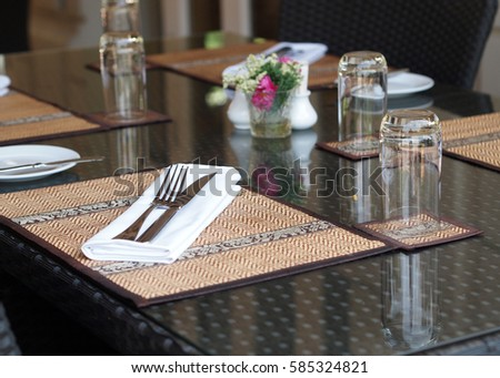 Restaurant Table Setting Asian Contemporary Style & Amazing Dinner Party Table Setting With Thai Theme - Asian Table Setting