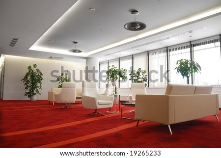 resting room - stock photo