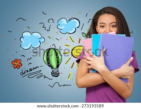 Resume, Student, Recruitment. - stock photo
