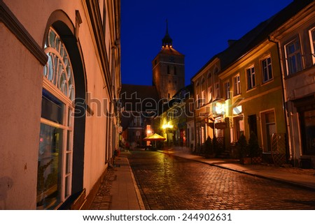 Reszel in Poland - stock photo