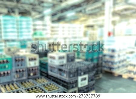 Retail, courier, stock. - stock photo