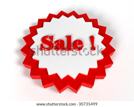 retail grunge sale label symbols - stock photo