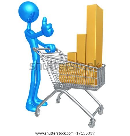 Retail Performance - stock photo