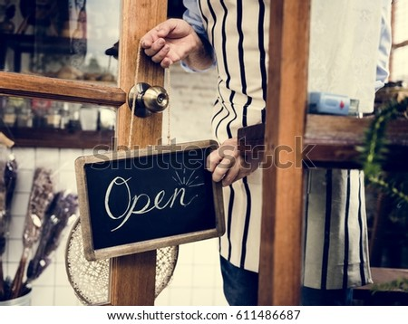 Retail Shop Store Sale Open sign