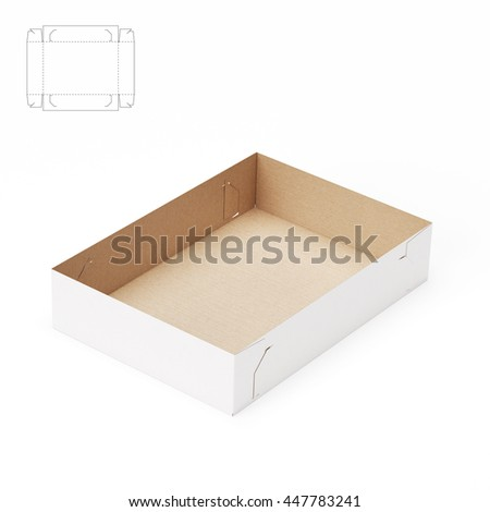 paper food tray template - cardboard tray stock images royalty free images vectors