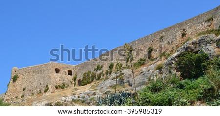 Rethymno Fort  - stock photo