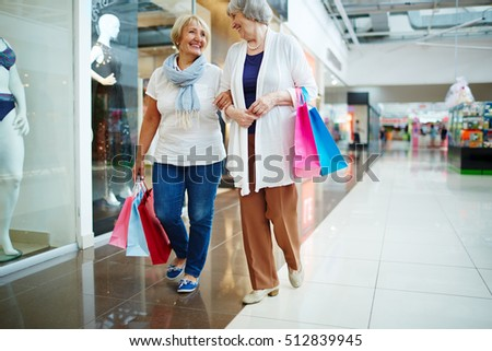 Retired shoppers