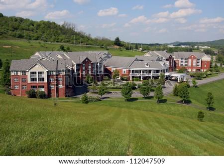Retirement Home - stock photo
