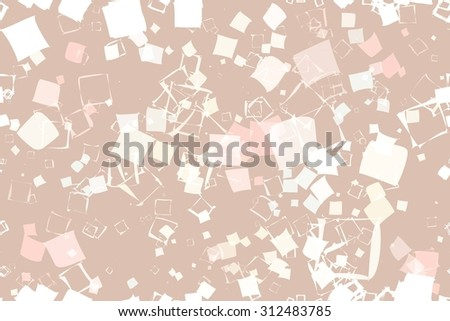 Retro abstract seamless pattern. seamless pattern of squares in vintage style. Raster version - stock photo